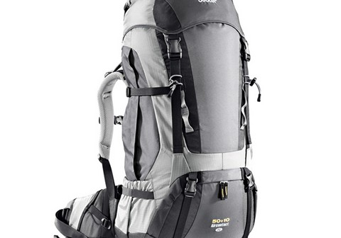 Deuter Aircontact 50 + 10 Sl Anthracite-silver