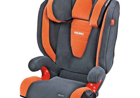 Recaro Monza Seatfix Grey/pepper