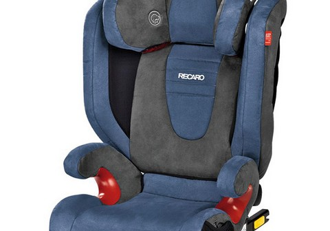 Recaro Monza Seatfix Shadow/blue