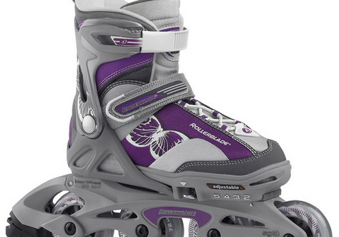 Rollerblade Spitfire Combo G Anthracite/purple