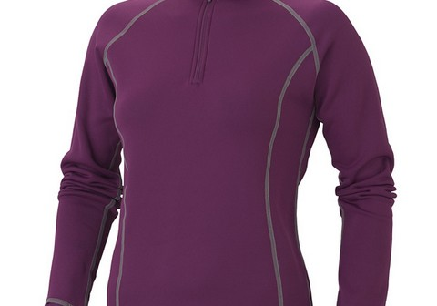 Marmot Wm s Power Stretch Half Zip Grape Berry