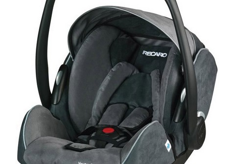 Recaro Young Profi Plus Asphalt/grey